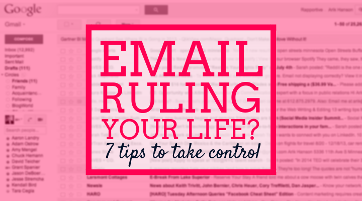 email ruling your life